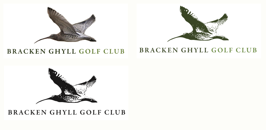 Bracken Ghyll Golf Club logo design
