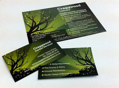 Tree surgeons design and printing