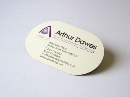 Die cut business cards bespoke shaped business cards rounded corner die cut business card using cutter no3 reheart Choice Image