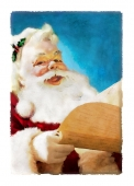 Christmas Cards Design ~ Jolly Santa